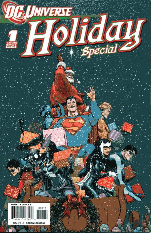 DC Universe Holiday Special 2009 frank quitely