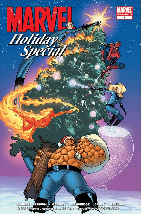 Marvel Holiday Special 2005 Stuart Immonen