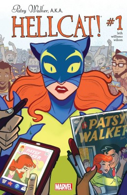 Patsy Walker, A.K.A. Hellcat! 001