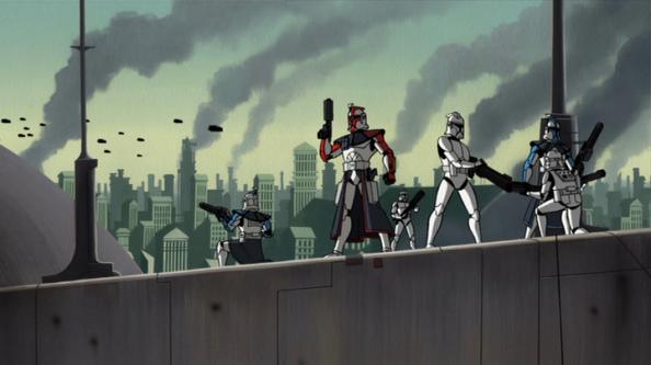 Star Wars Clone Wars Clones
