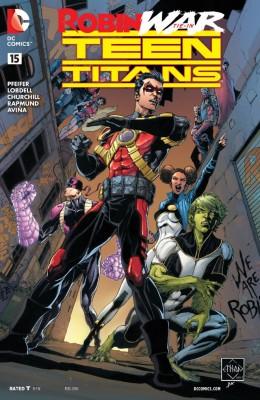 TEEN TITANS #015