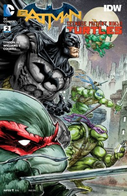 Batman Teenage Mutant Ninja Turtles 002