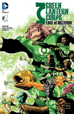 Green Lantern Corpes Edge of Oblivion 001
