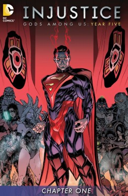 Injustice Gods Among Us Year Five 001