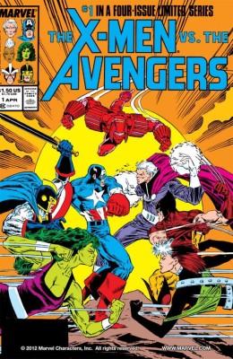 The X Men vs The Avengers