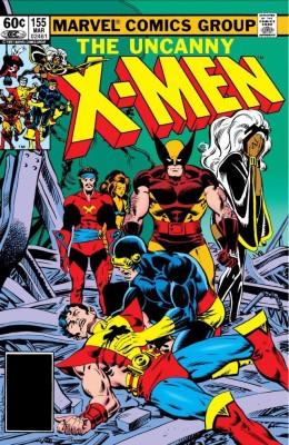 Uncanny X Men 155