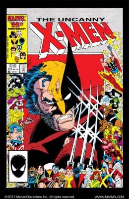 Uncanny X Men 211