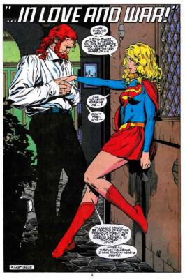 Luthor II y Supergirl