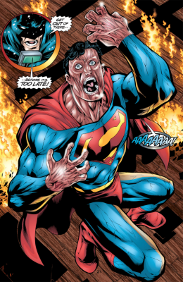 JLA 44 - Batman vs Superman