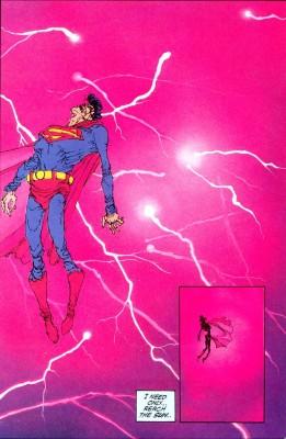 Superman Ataque nuclear DKR