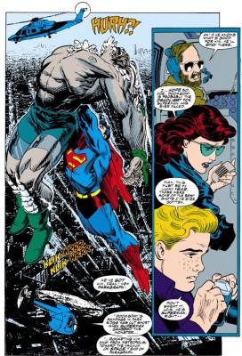Superman Doomsday al espacio