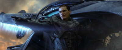 "MICHAEL SHANNON as General Zod in Warner Bros. Pictures' and Legendary Pictures' action adventure ""MAN OF STEEL,"" a Warner Bros. Pictures release. TM & © DC Comics."