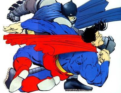 DarkKnightReturns Batman vs Superman