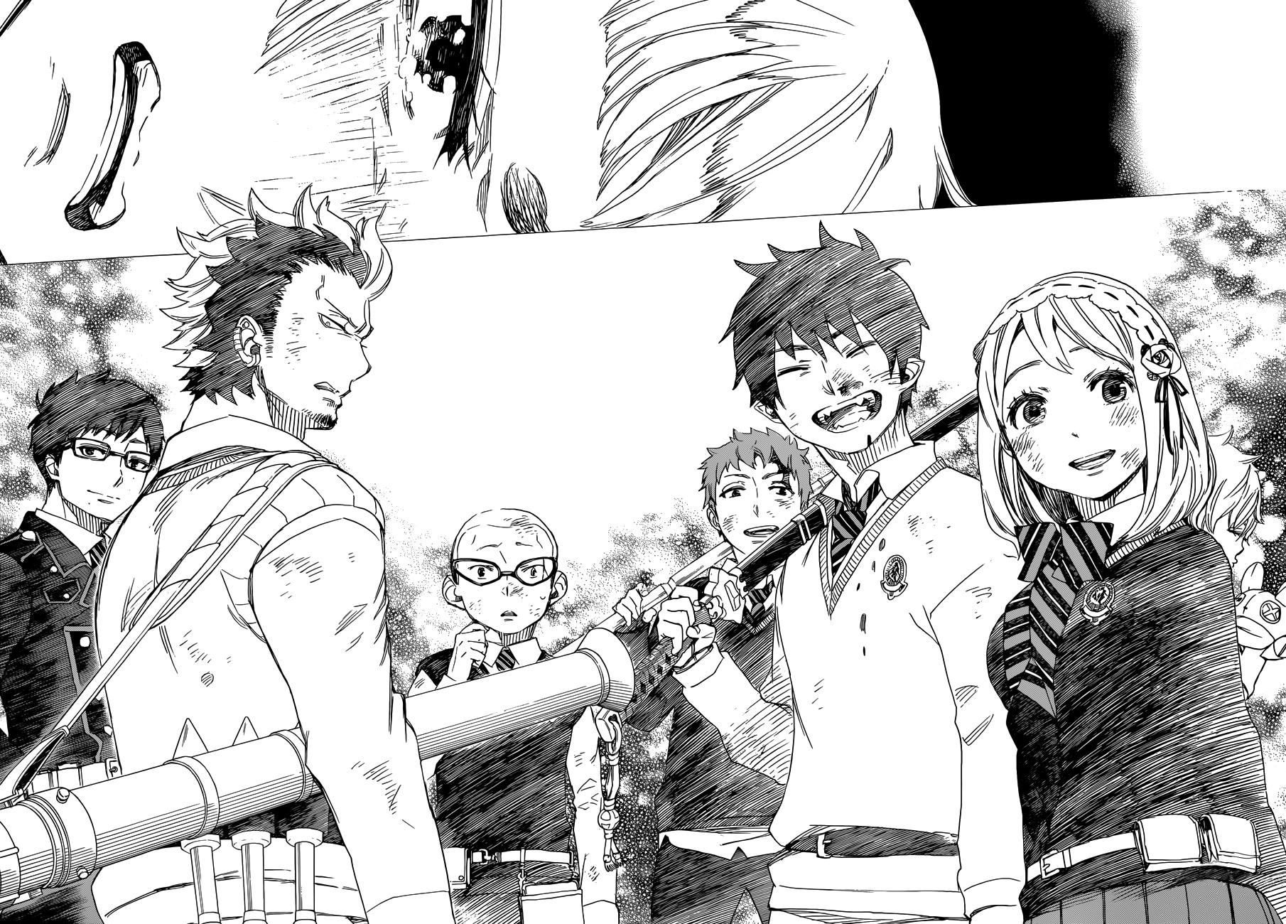 Resultado de imagen de blue exorcist manga