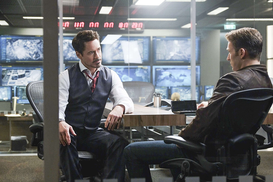 Captain America, Civil War - Tony y Steve