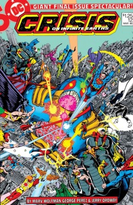 Crisis On Infinite Earths 012