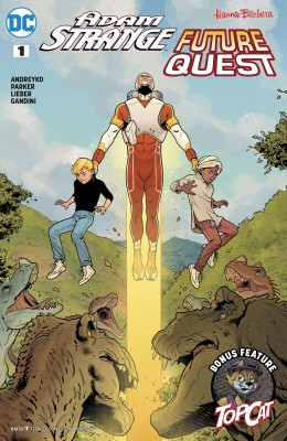 Adam Strange Future Quest 001