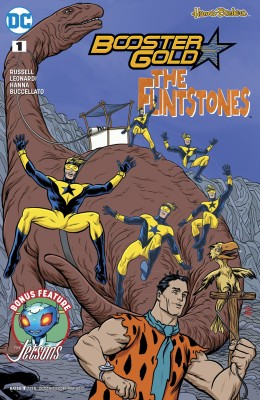 Booster Gold The Flintstones 001