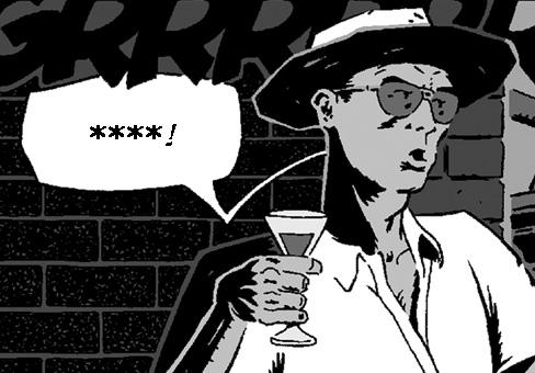 Thompson y un martini