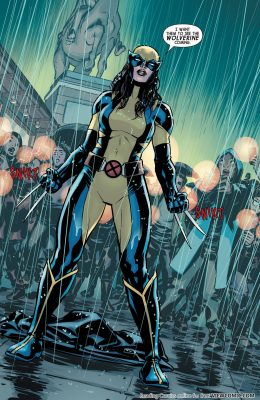 Laura Kinney como Wolverine