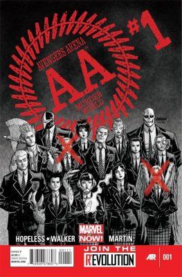 Avengers Academy 001