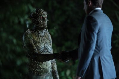 El regreso de la serie trajo consigo del retorno del monstruo de la semana en plena forma