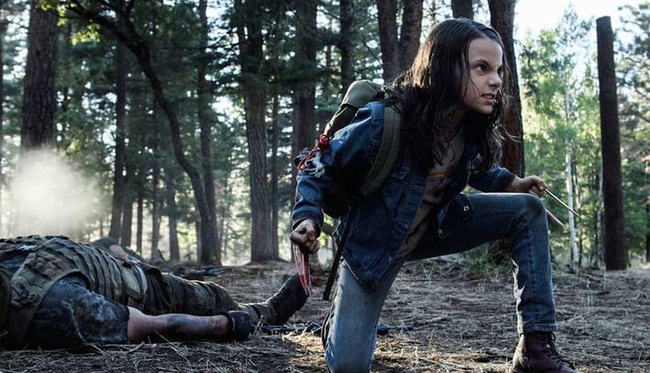 Laura en la película Logan (2017)