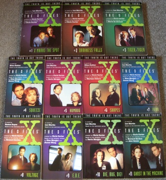 Serie de novelas juveniles de The X-Files