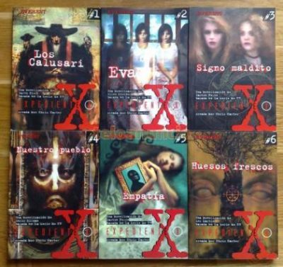 Novelas young adult de The X-Files