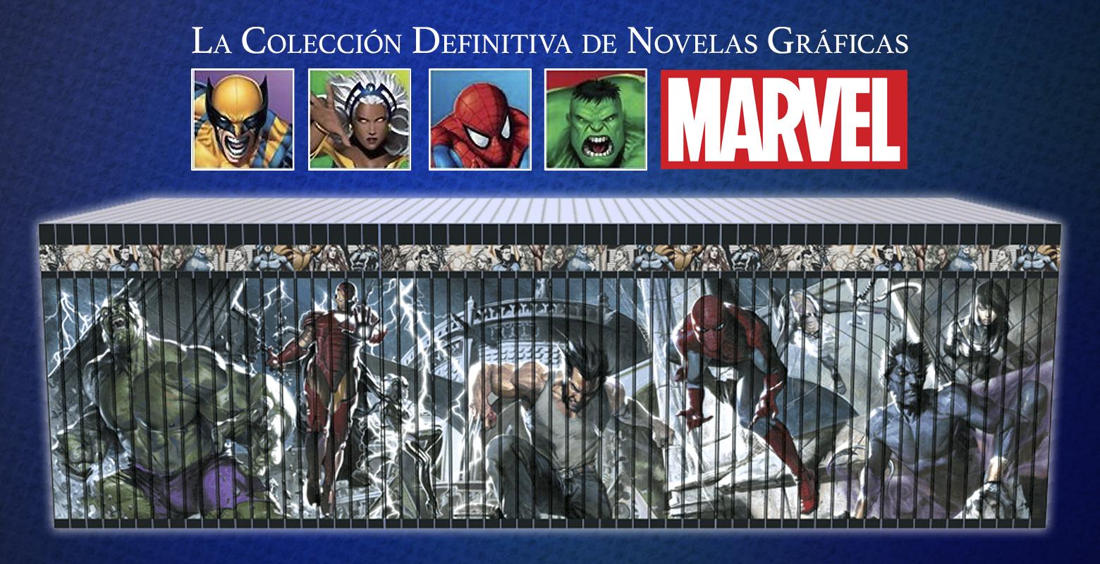 fbe732648 La alianza Salvat – Grupo El Mercurio ha anunciado el lanzamiento de la  Colección Definitiva de Novelas Gráficas Marvel, una serie de tomos que  reúne lo mas ...