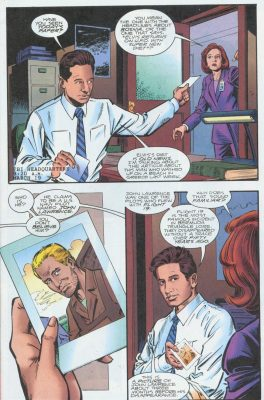 Los Mulder y Scully de John Rozum