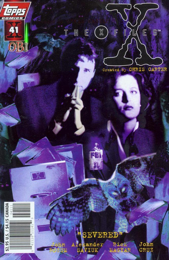 Último número de la serie The X-Files, a cargo de John Rozum