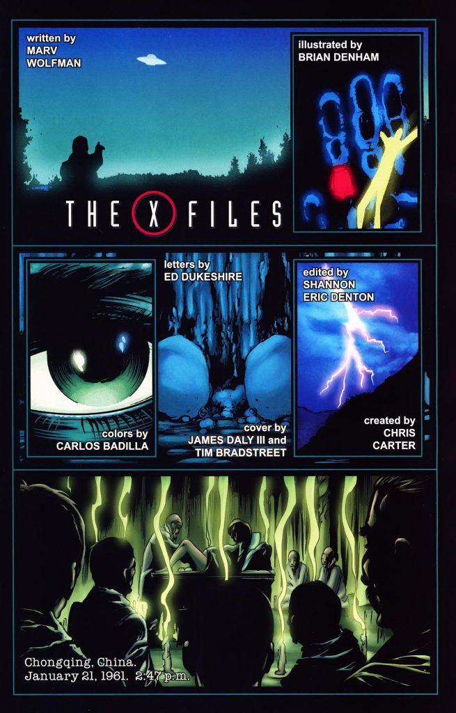The X-Files de Wildstorm