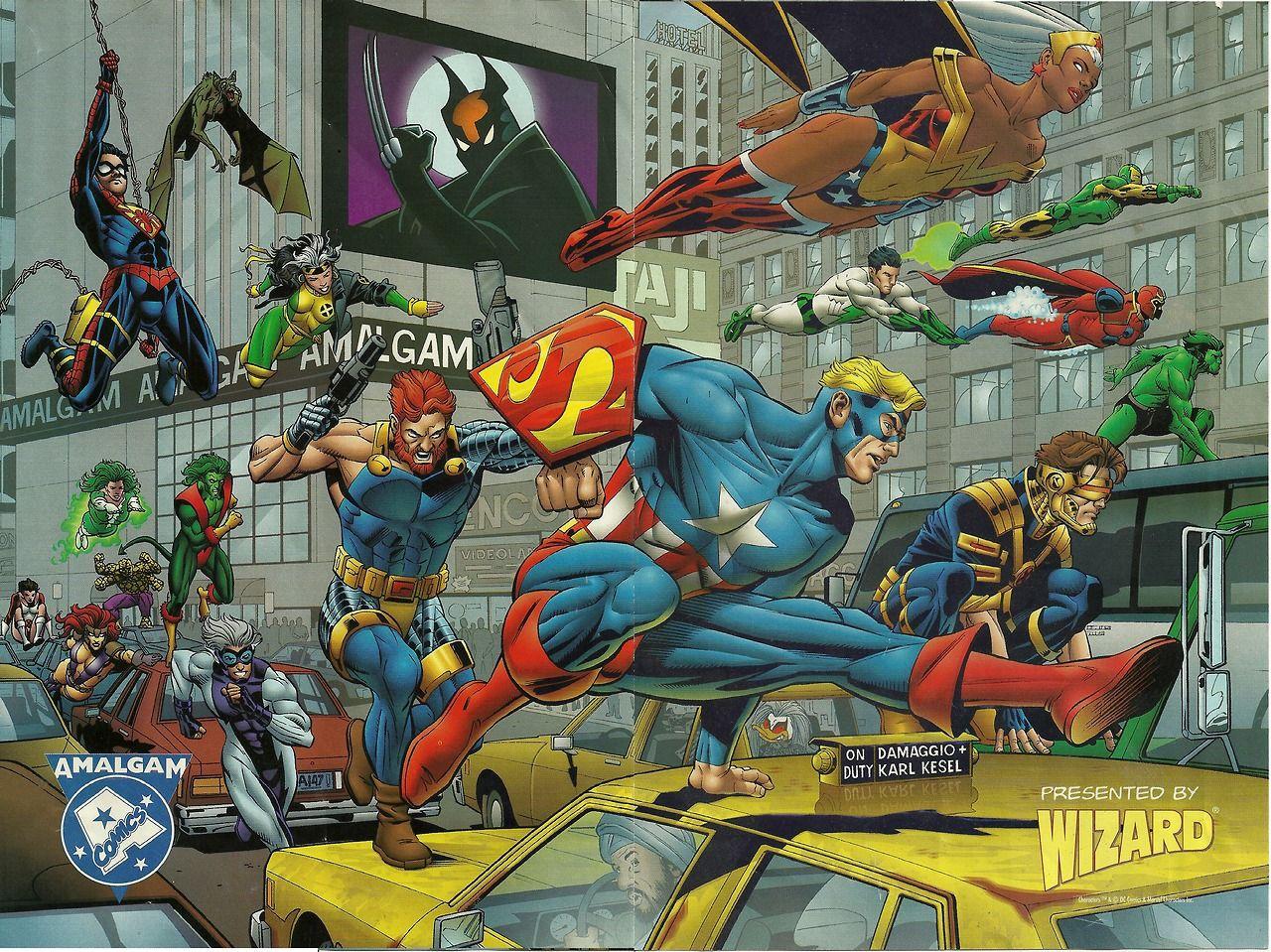Amalgam Comics (1996): la primera oleada • Cuarto Mundo