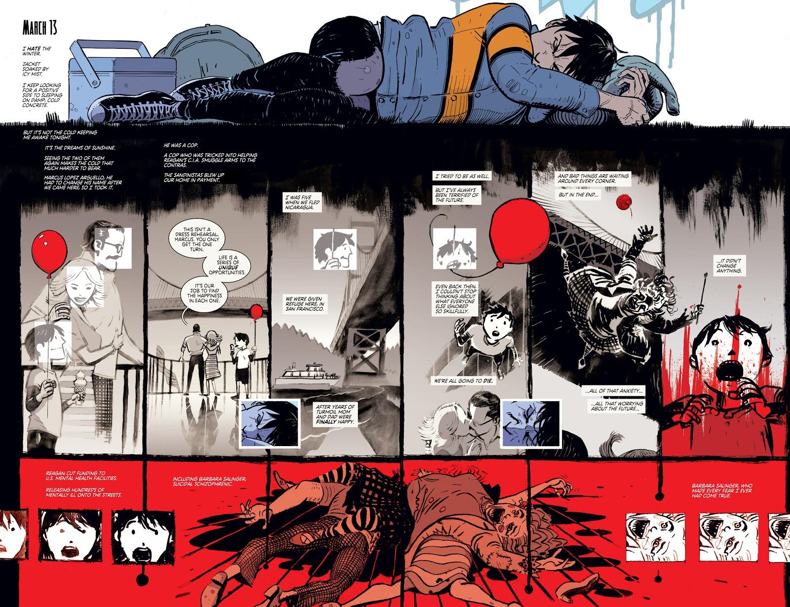 Wes Craig - Estructura de cómic