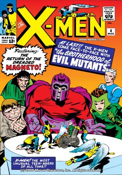 X-Men de Stan Lee y Jack Kirby
