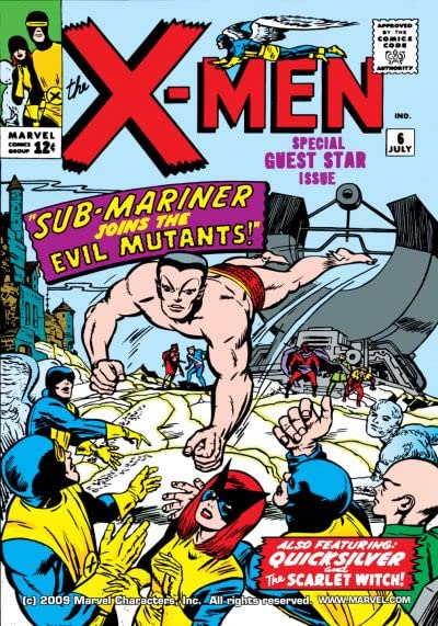 The X-Men #006 de Stan Lee y Jack Kirby