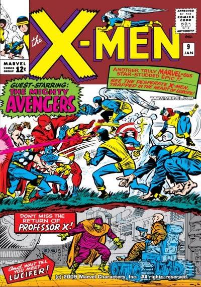The X-Men #009