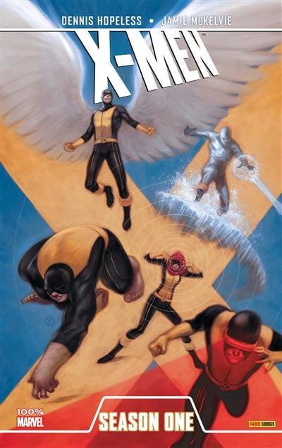 """De la oleada de """"primeras temporadas"""" de Marvel: X-Men Season One."""